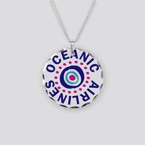 oceanicairlinesround Necklace Circle Charm