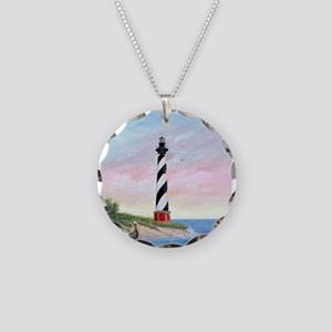 Hatteras Sunrise Necklace Circle Charm