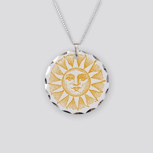 Sunny Day Necklace Circle Charm