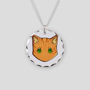 Chibi Firestar Necklace Circle Charm