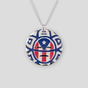 Taino Necklace Circle Charm
