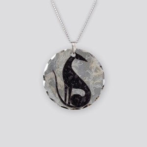Sable Necklace Circle Charm