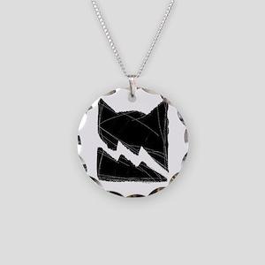 Thunderclan BLACK Necklace Circle Charm