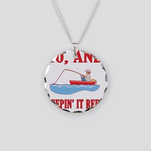 reel40 Necklace Circle Charm