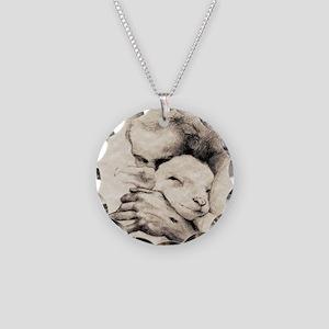 jesus7 Necklace Circle Charm