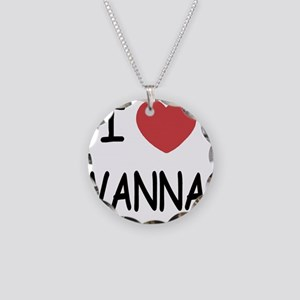 VANNA Necklace Circle Charm