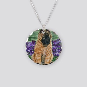 bel terv pup Necklace Circle Charm
