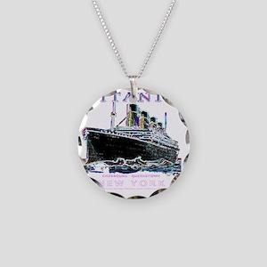 tg914x14 Necklace Circle Charm