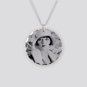 louise brooks silent movie s Necklace Circle Charm
