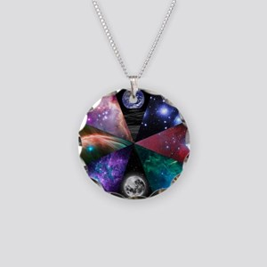Astronomy Collage Necklace