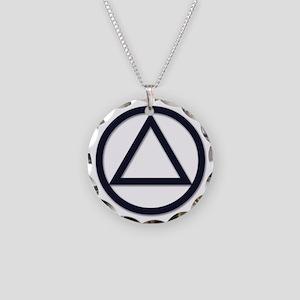 A.A. Symbol Basic - Necklace Circle Charm