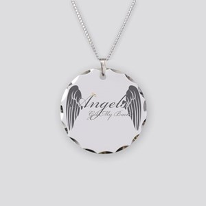 Angels Got My Back Necklace