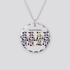 Dare to be Different Cows Necklace