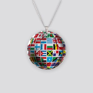 World Soccer Ball Necklace