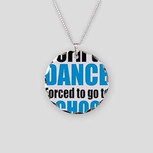 dance Necklace Circle Charm