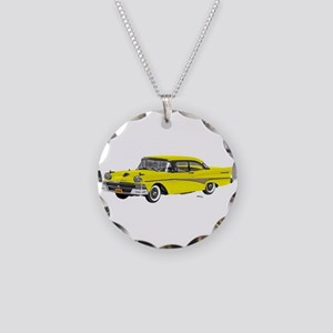1958 Ford Fairlane 500 Yellow Necklace Circle Char