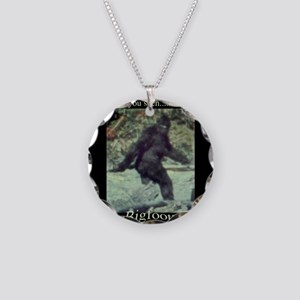 Have You Seen BIGFOOT? Necklace Circle Charm