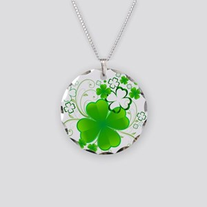 Clovers and Swirls Necklace