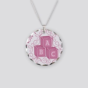 New Kid Necklace Circle Charm