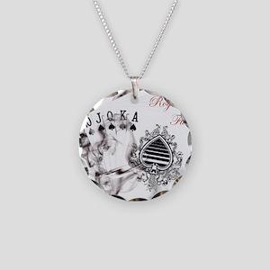 SmokinRoyalFlushB Necklace Circle Charm