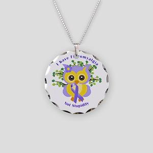 I Have Fibromyalgia Necklace Circle Charm
