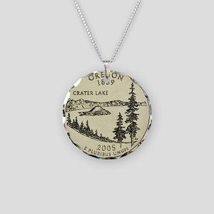 Oregon Quarter 2005 Basic Necklace