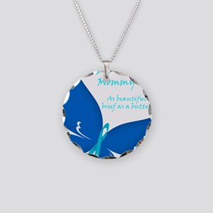 CDH Butterfly - Mommy Necklace Circle Charm