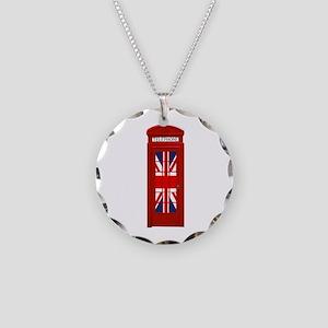 LONDON Professional Photo Necklace Circle Charm