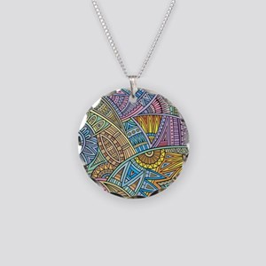 Colorful Abstract Necklace