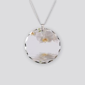 Orchids Reflection Necklace