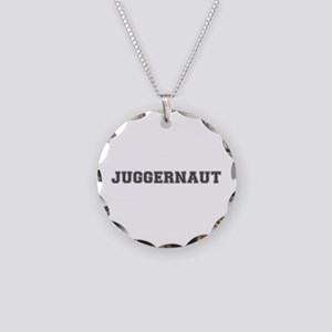 JUGGERNAUT Necklace Circle Charm