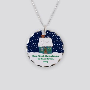 2015 Necklace Circle Charm