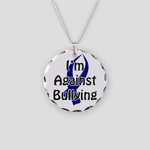 Anti-Bullying Blue Ribbon Necklace