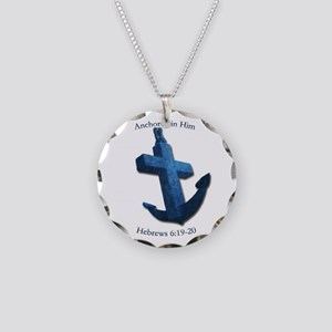 Anchored In Him Necklace