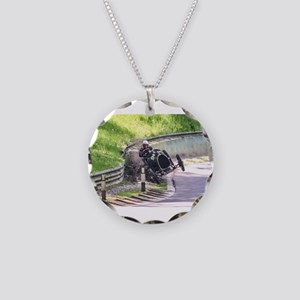BUGATTI T13 CRASH Necklace Circle Charm