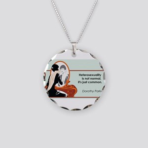 hetrosexualityparker Necklace Circle Charm