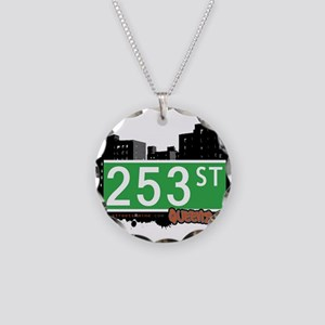 253 STREET, QUEENS, NYC Necklace Circle Charm