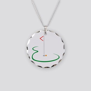 Golf Green Necklace