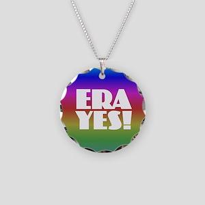 ERA YES - Rainbow Necklace Circle Charm