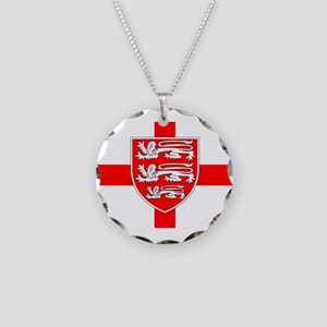 Saint Georges Day Necklace Circle Charm