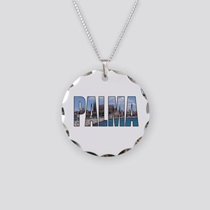 Palma Necklace Circle Charm
