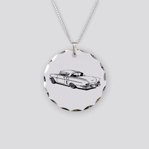 Shelby Mustang Cobra car Necklace Circle Charm