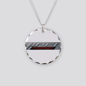 Viper Necklace Circle Charm