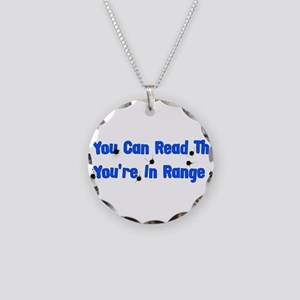 In Range Necklace Circle Charm