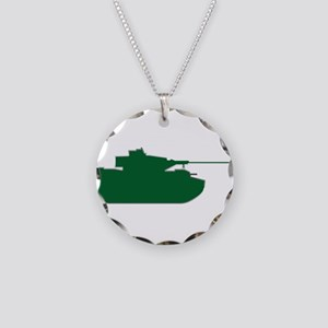 Tank - Army - Military Necklace