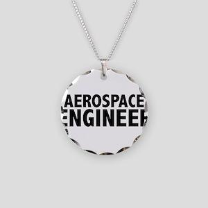 Aerospace Engineer Necklace Circle Charm