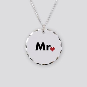 Mr Necklace Circle Charm