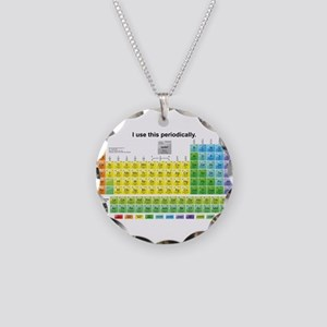 Periodically Necklace Circle Charm