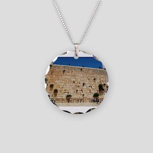 Western Wall (Kotel), Jerusa Necklace Circle Charm
