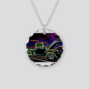 1940 Ford Pick up Truck Neon Necklace